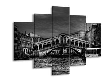 Černobílý obraz - Benátky (F001735F150105)