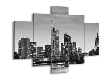 Černobílý obraz - Frankfurt (F001760F150105)
