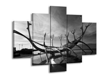 Černobílý obraz moderního úmění (F001762F150105)