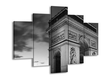 Černobílý obraz vítězného oblouku (F001765F150105)