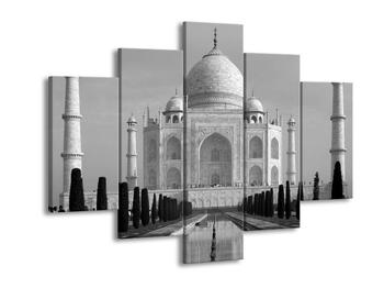 Černobílý obraz - Tádž Mahal (F001769F150105)