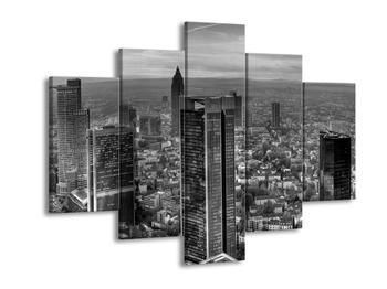 Černobílý obraz mrakodrapu (F001783F150105)