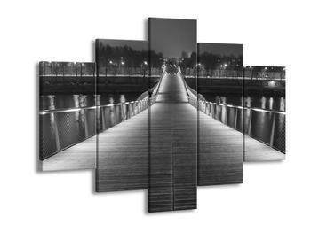Černobílý obraz mostu (F001794F150105)