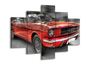 Obraz červeného auta (F001828F150105)