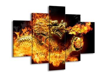 Obraz ohnivého draka (F001835F150105)