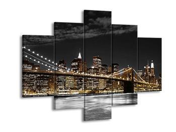 Obraz žlutého New Yorku (F001854F150105)
