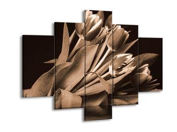 Obraz orosených tulipánů (F001899F150105)