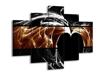 Dvoubarevný obraz srdce (F001974F150105)