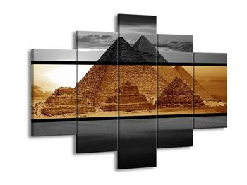 Dvoubarevný obraz pyramid (F002002F150105)