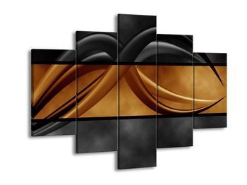 Dvoubarevný obraz chapadel (F002027F150105)