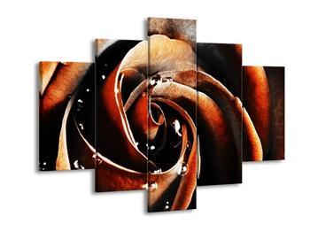 Obraz karamelové růže (F002036F150105)
