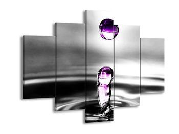 Obraz fialových kapek (F002038F150105)