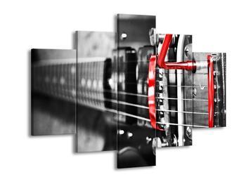 Obraz kytarových strun (F002043F150105)