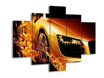 Obraz rychlého auta (F002050F150105)