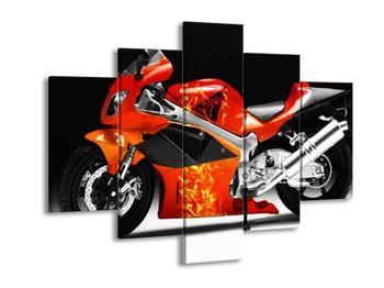 Obraz závodní motorky (F002061F150105)