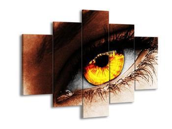 Obraz žlutého oka (F002079F150105)