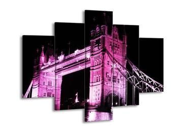 Obraz růžového mostu (F002087F150105)