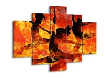 Obraz ohnivých baletek (F002118F150105)