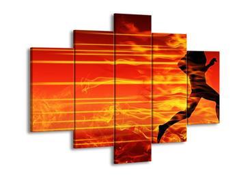 Obraz ohnivého běžce (F002129F150105)