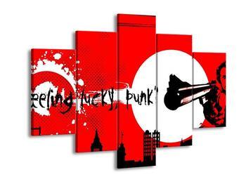 Obraz - Lucky, punk (F002158F150105)