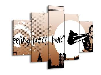 Moderní obraz - Lucky punk (F002159F150105)