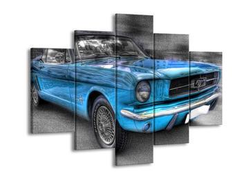 Obraz modrého auta (F002198F150105)