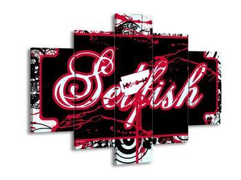Moderní obraz - Selfish (F002222F150105)