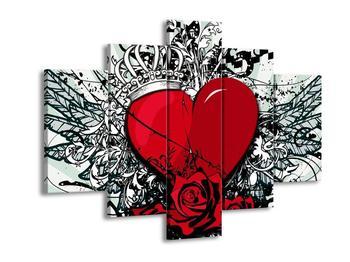 Obraz královny srdce (F002243F150105)
