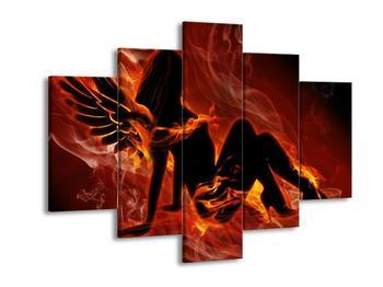 Obraz ženy v plamenech (F002301F150105)