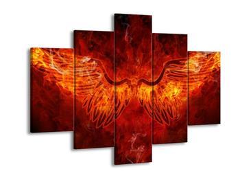 Obraz hořících křídel (F002308F150105)