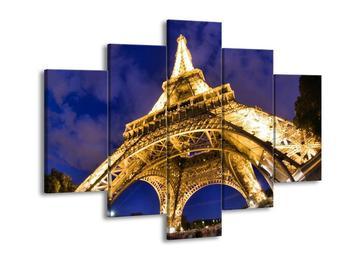 Obraz báze Eiffelovy věže  (F002313F150105)