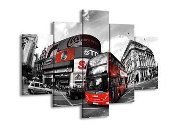 Obraz dvoupatrového autobusu (F002318F150105)