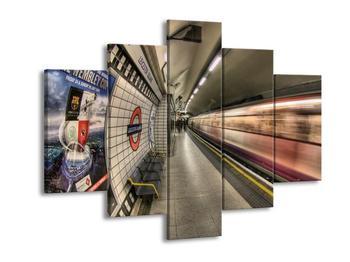 Obraz londýnského metra (F002330F150105)