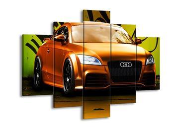 Obraz oranžové Audi (F002351F150105)