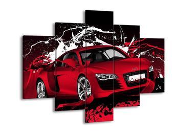 Obraz červené Audi (F002352F150105)