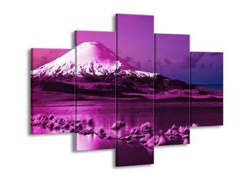 Fialový obraz hory (F002429F150105)