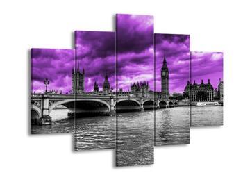 Černobílý obraz Londýna (F002453F150105)