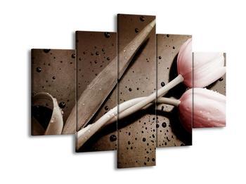 Moderní obraz červených tulipánů (F002515F150105)