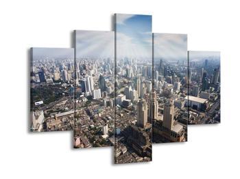 Obraz prosluněného Bangkoku  (F002640F150105)