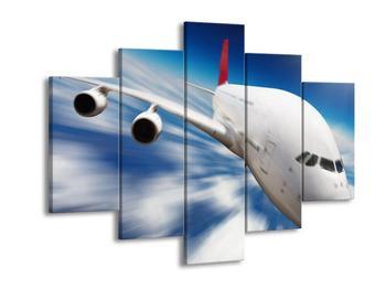 Obraz letadla v pohybu  (F002709F150105)