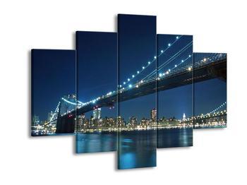 Obraz osvětleného mostu  (F002850F150105)