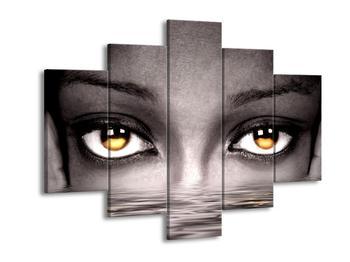 Obraz zlatavých očí na hladině  (F002882F150105)