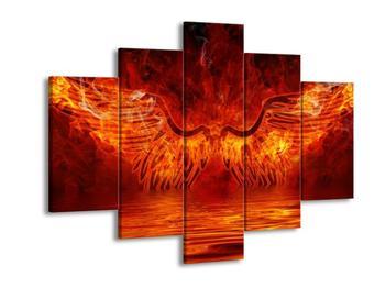 Obraz hořících křídel  (F002887F150105)