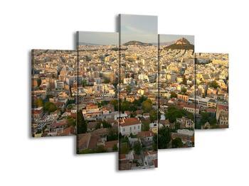 Obraz rozsáhlého města  (F002955F150105)