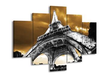 Obraz Eiffelovy věže v Paříži (F003002F150105)