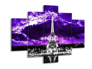 Obraz Eiffelovy věže v Paříži (F003006F150105)