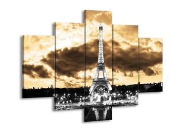 Obraz Eiffelovy věže v Paříži (F003008F150105)