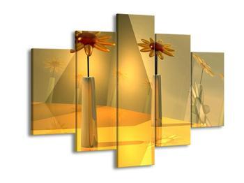 Abstraktní obraz květin  (F003990F150105)