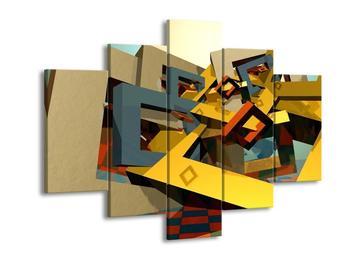 Moderní barevný obraz (F004002F150105)