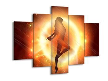 Moderní obraz tancující ženy  (F004224F150105)